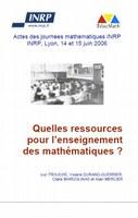 Quelles ressources pour l'enseignement des mathématiques ?
