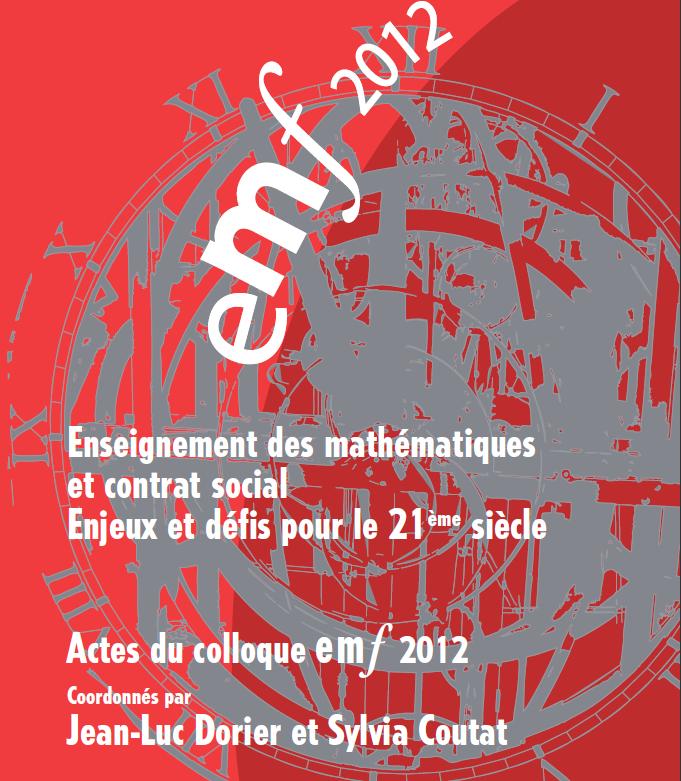 Actes EMF 2012