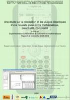 Expérimentation collaborative de laboratoires mathématiques