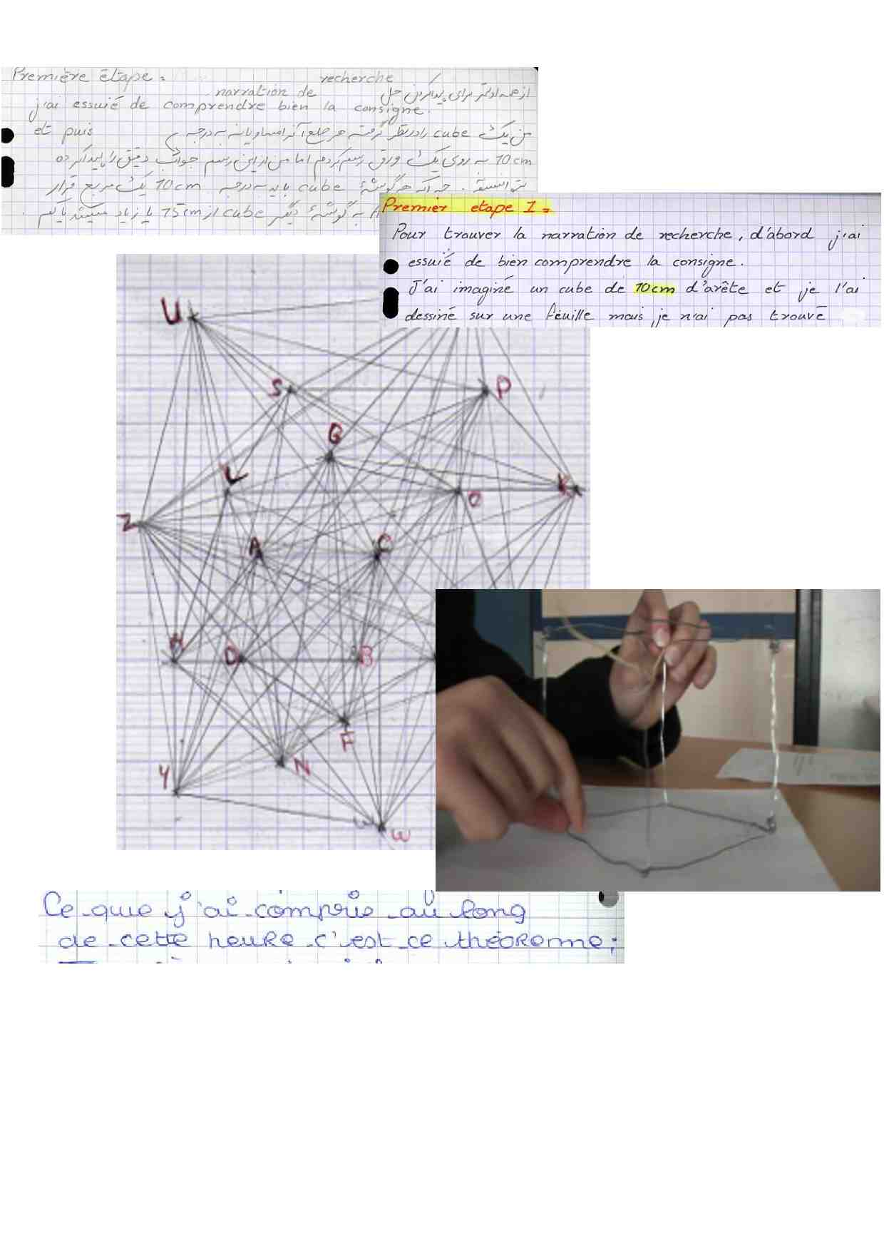 Narrations de recherche en mathématiques : écrire pour comprendre, écrire pour apprendre